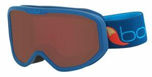 Bollé INUK Blue Fox Matte / Rosy Bronze Cat.3 | Extra Small – Masque de ski Unisexe-Enfant
