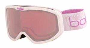 Bollé INUK Pink Princess Matte / Vermillon Cat.2 | Extra Small – Masque de ski Unisexe-Enfant