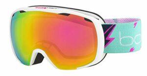 Bollé ROYAL White Flash Matte / Rose Gold Cat.2 | Small – Masque de ski Unisexe-Enfant