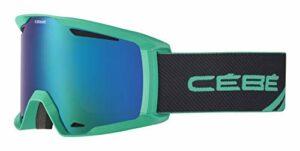 Cébé Reference Masque de Ski Mixte, Vert Galactique Mat, L