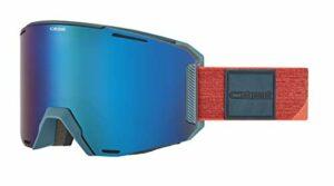 Cébé Slider Masque de Ski Mixte, Orange Lagon Mat, Medium-Large