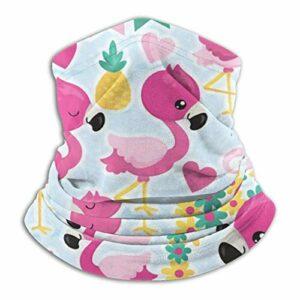 hangong Flamingo Digital Écharpe tube unisexe, protection contre la poussière, masque de ski, masque respirable, masque de sport, moto, jogging, protection UV