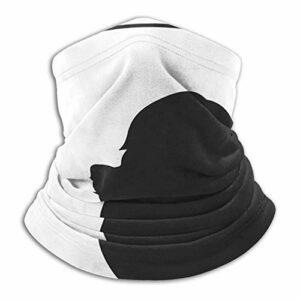 hangong Silhouette Of A Dog – Écharpe tube unisexe – Protection contre la poussière – Masque d'extérieur – Masque de ski respirant – Protection UV – Pour le sport, la moto, le jogging