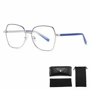 Lunettes de Blocage de La Lumière Bleue, Lunettes de Jeu D'ordinateur pour Hommes/Femmes, Anti-Fatigue Oculaire et Meilleur Sommeil (Color : D)