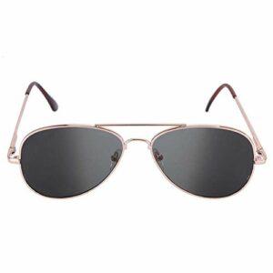 Lunettes de soleil anti-moniteur, lunettes de vue arrière cadeau de nouveauté, revêtement de haute technologie durable Anti-suivi pratique pour le vélo, marche, sports de plein air, bronzer