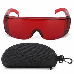 Lunettes Laser BACHIN lunettes de sécurité accessoires industriels lunettes de protection adaptées pour filtre à lumière(rouge)