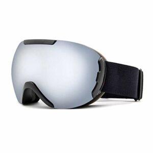 N-B Lunettes De Ski Double Anti-BuéE Ski Fournitures Carte Myopie Lunettes De Ski MâLe Alpinisme Lunettes Vent Miroir