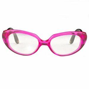 Oscar De La Renta Lunettes de vue pour femme en bois de santal œil de chat rose et verres transparents – ODLR43C5OPT