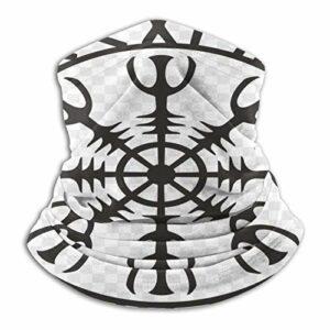Ravens Écharpe tube unisexe Mythologie nordique, masque de protection contre la poussière, masque de ski, masque respirable, masque de sport, moto, jogging, protection UV