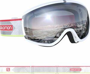Salomon, iVY, Masque de ski pour femme, Blanc/Universal Super White, L40847000