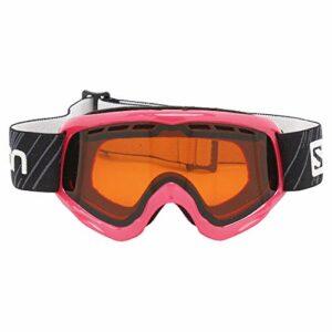 Salomon, Juke Access, Masque de ski pour enfants (6-12 ans), Rose / Universal Tonic Orange, L39137500