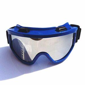 TYHDR Hommes Femmes Ski Snowboard Masque Motoneige Ski Lunettes De Ski Coupe-Vent Motocross Lunettes De Protection Lunettes De Sécurité avec Filtre Bouche
