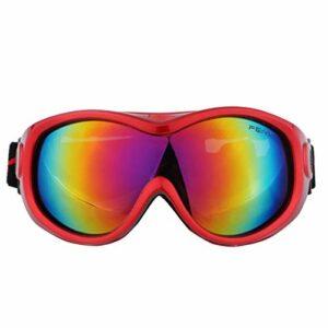 TYHDR Lunettes de Ski pour hommes et femmes Protection UV Sports de plein air Anti-buée grand masque de Ski lunettes de Snowboard lunettes coupe-vent