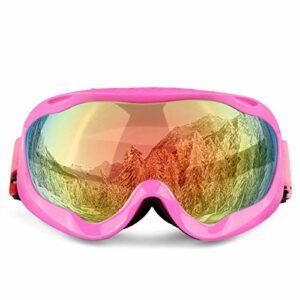 TYHDR Lunettes deski lunettes de ski lunettes anti-UV double couche lunettes de snowboard accessoires de ski hommes femmes masque de ski lunettes de neige