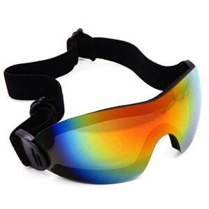 TYHDR Lunettes lunettes de Ski hommes femmes 2 lentilles anti-buée Ski motoneige Snowboard masque de patinage sur neige lunettes de Ski