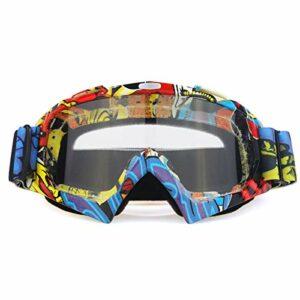 TYHDR Sports d'hiver lunettes de Ski masque de snowboard accessoires de motoneige Snowboard lunettes de ski de neige coupe-vent lunettes de soleil de moto
