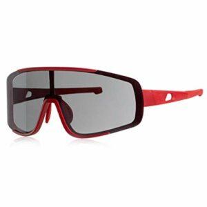 AEF Lunettes Soleil Polarisées pour Hommes, Cadre TR90 Ultra Léger, UV400 pour Sports Baseball Course Cyclisme Pêche Golf,4
