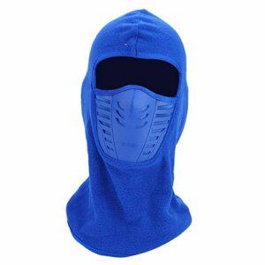 Anti-poussière Protégez Votre Masque Facial de Ski pour Les activités de Plein air(Blue)