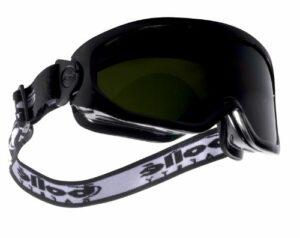 Bollé BLAWPCC5 Lunettes masques Blast aérée soudure teinte 5, Noir