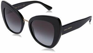 Dolce & Gabbana 0DG4319 501/8G 51 Montures de lunettes, Noir (Black/Gradient), Femme