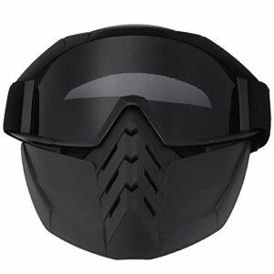 ffu Goggles, Masque De Pare-Brise pour Motocycles De Ski De Neige d'hiver (Gris)