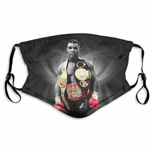 fishappleeatall Iron Mike Tyson The Champ Masque facial avec filtre