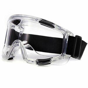 Gosunfly Anti-sable, anti-poussière, lunettes d'équitation, sécurité, éclaboussures, chocs et salive