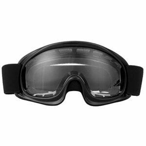 GXP Lunettes De Protection pour Enfants Moto Cyclisme en Plein Air Coupe-Vent Anti & # 8209; Lunettes De Ski D'impact Noir