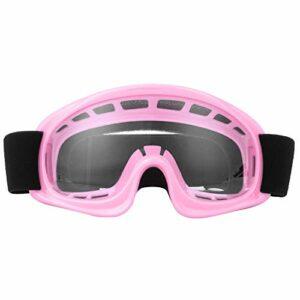 GXP Lunettes De Protection pour Enfants Moto Cyclisme en Plein Air Coupe-Vent Anti & # 8209; Lunettes De Ski D'impact Rose