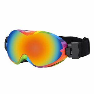 Harilla Lunettes de Ski Double Couche Anti-buée Adulte Hiver Snowboard Ski Lunettes – Colorful Frame