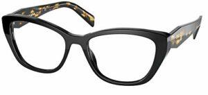 Lunettes de Vue Prada PRADA PR 19WV Black 53/17/140 femme