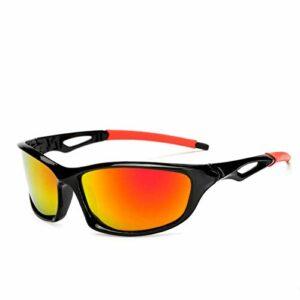 N-B Lunettes de Soleil de Sport polarisées pour Hommes DMA, utilisées pour Le Ski, Le Golf, la Course à Pied, Le Cyclisme, la Conception de Monture ultralégère pour Hommes et Femmes Tr90