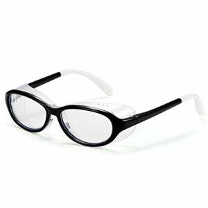 QIULAO Lunettes anti-pollen pour enfants, nez de nez de silicone amovible lunettes, anti-brouillard, anti-bleu, anti-goutteletlet, anti-poussière, anti-ultraviolet, adapté aux lunettes de sécurité des