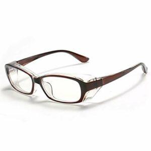 QIULAO Lunettes d'allergie anti-pollen adultes, lunettes de protection en trois dimensions enveloppées.Anti-brouillard, anti-bleu, anti-goutte, anti-poussière, adapté aux lunettes de sécurité portée p