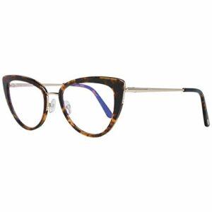 Tom Ford Lunettes FT5580-B 056 55 – Filtre bleu pour femme
