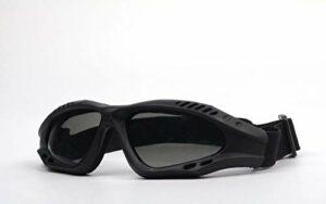 Végéats de Moto, Lunettes de vélo, Protection UV Verres extérieurs, Protection Anti-poussière Lunettes de Combat, Lunettes Tactiques extérieures