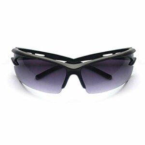 Aiovemc Lunettes de cyclisme lunettes de soleil de vélo VTT Sport lunettes anti-déflagrantes lunettes de soleil anti-déflagrantes