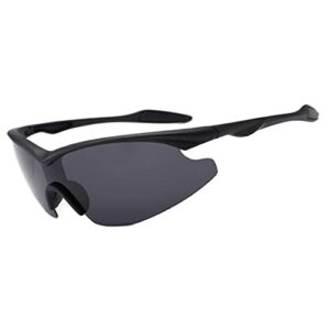 Aiovemc Lunettes de cyclisme lunettes de vélo de montagne polarisées lunettes de soleil de sport de pêche en cours d'exécution lunettes de soleil d'équitation