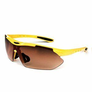 Aiovemc Sports de plein air cyclisme vélo équitation hommes lunettes dames lunettes lunettes UV400 lentilles