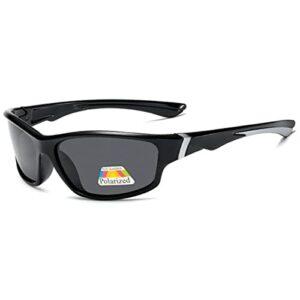 Aiovemc Sports polarisés UV400 lunettes de soleil vélo de route lunettes de soleil VTT vélo équitation lunettes de protection lunettes de pêche