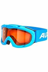 ALPINA Masque de ski enfant Ruby S (taille unique, bleu-bleu)