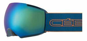 Cébé – ICONE – Masque de Ski – Mixte Adulte – Pétrole Orange – L
