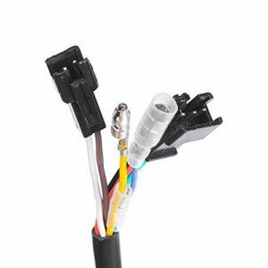 Esenlong 1 paire d'étrangleurs universels LED de tension pour vélo électrique 12-99 V