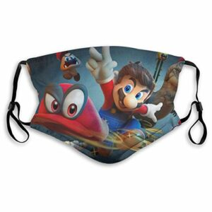 fishappleeatall Sonic-Game Masque de protection anti-Dt pour adulte