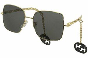 Gucci Lunettes de Soleil GG0724S Gold/Grey 61/18/135 femme
