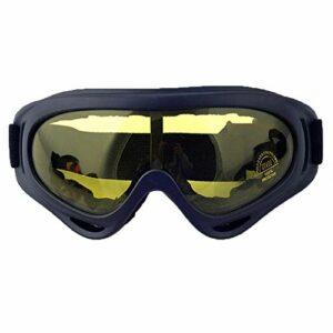 HEXUAN Lunettes de cyclisme, lunettes de cyclisme, lunettes de vélo, lunettes de ski, lunettes de moto, coupe-vent, miroir