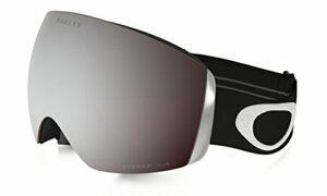 Oakley Flight Deck Masque de Ski Mixte Adulte, Matte Black/Prizm Black Iridium