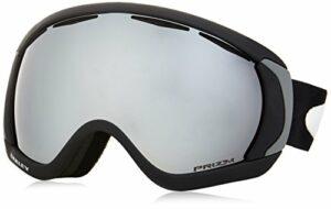 Oakley masque de ski Canopy mixte adulte Matte Black Prizm Black Iridium
