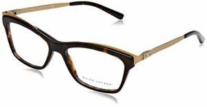 Ralph Lauren 0Rl6165 Monture de lunettes, Marron (Dark Havana), 52 Femme
