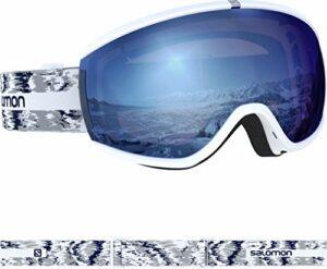 SALOMON – Masque De Ski/Snow Ivy Sigma Wh Glitch/uni Skyb Femme – Femme – U – Blanc
